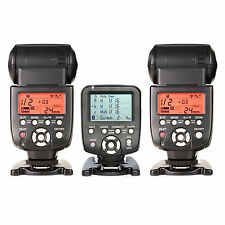 Yongnuo YN560TX LCD Wireless Flash Controller+2pcs YN560 IV Flash kit For Nikon