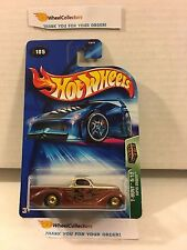 Super Smooth #105 w/ Real Riders * Treasure Hunt * 2004 Hot Wheels * L2