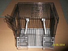 BRAND NEW WIRE MULE / TRAVEL / WEANING CAGES , CANARY , FINCH ETC