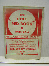 "1944 The Little ""Red Book"" of Base Ball- Softcover Baseball Book  (L9677)"