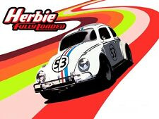 Herbie The Love Bug Race Car 5x7 Iron on transfer