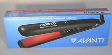 "AVANTI 1"" NANO-SILVER, TOURMALINE AND CERAMIC FLAT IRON - Up to 450°F A-ST3"