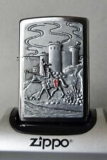 Rare Zippo Lighter - Knights Templar CRUSADER CASTLE Masonic Templer Free mason