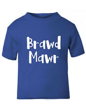 Brawd Mawr Boys T-Shirt,Welsh Big Brother T-Shirt,Sizes up to 5-6 yrs, 3 colours