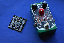 Electro Harmonix Big Muff type FUZZ PCB with mods  DIY pedal