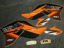 KTM SX65 2009-2015 Factory FX racing orange/black graphics kit GR1115