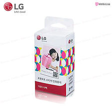 LG Sticker ZINK Photo Paper * 30 Sheets for LG Pocket Photo PD221, PD239, PD251