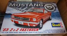 REVELL 1965 FORD MUSTANG 2+2 FASTBACK 1/24 MODEL CAR MOUNTAIN FS