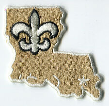 """NEW ORLEANS SAINTS NFL FOOTBALL 2.5"""" STATE LOGO PATCH - VERSION 2 WITH NO TEXT"""