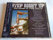 TOM WAITS TRIBUTE Step Right Up JAPAN PROMO CD NEW Alex Chilton Tim Buckley