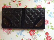 ⭐️MiMCO Black Panelled REVOLUTION⭐️Leather Purse Wallet Bag⭐️