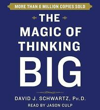 Magic of Thinking Big by David Schwartz (2015, CD, Unabridged)