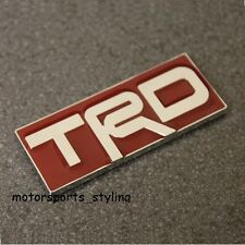 TRD Car Badge Emblem Toyota MR2 Celica Yaris Starlet Auris T Sport Boot Wing 91r