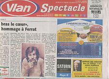 VLAN SPECTACLE 154 (19/10/2011) JEAN FERRAT BUGS HENDERSON