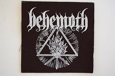 "Behemoth Cloth Patch Sew On Badge Black Metal Enslaved Approx 4""X4"" (CP233)"