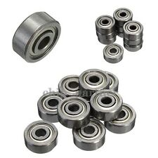 50pcs MR52ZZ 2x5x2.5mm Miniature Bearing Ball Mini Bearing Model MR52 2Z
