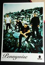 PENNYWISE THE FUSE PAPER PHOTO 5x7 MUSIC AD POSTCARD Mini SM PROMO POSTER