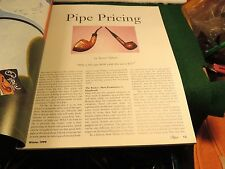 "THE BUTZ CHOQUIN ISSUE P&T WINTER 1999  ISSUE ""CALABRESI PIPES STORY EXCELLENT"