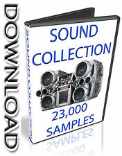 SOUND COLLECTION -  WAV FILES - KONTAKT - HALION - APPLE LOGIC PRO EXS24