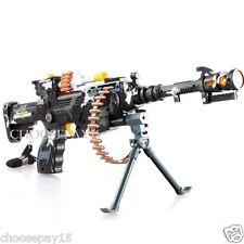 Enfants combat 3 armée commando machine gun pistolet avec lumières et sons jouet cadeau