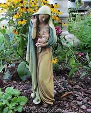 "18"" MARY MADONNA W/CHILD CATHOLIC Indoor Outdoor Garden Statue ~ Simply Elegant"