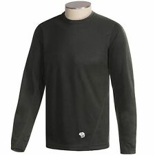 Mountain Hardwear ThermaDry Base Layer Shirt- L/S-(For Men)- Black- XL- 014140