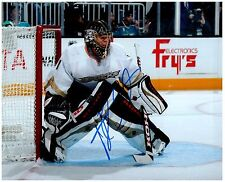 Anaheim Ducks JONAS HILLER Signed Autographed 8x10 Pic B