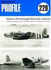 AERONAUTICA AIRCRAFT Publications Profile 229 - Vickers-Armstrongs Warwick - DVD