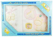 CORREDINO Coordinato per Culla 4 pezzi 100% Cotone by T&R Baby Nuovo