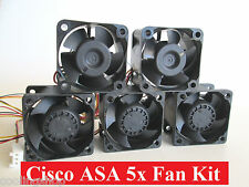 Cisco Fan Kit for ASA5505 ASA5510 ASA5520 ASA5540 5550 Complete Kit with 5x Fans