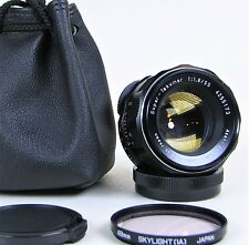 SUPERB PENTAX SUPER TAKUMAR f1.8 55mm PRIME LENS M42 ADAPTABLE TO DSLR - CSC