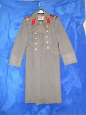 Soviet Russian Army Orchestra Colonel Officer Wool Overcoat Uniform Coat USSR