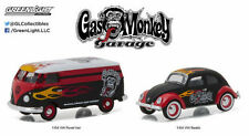 GREENLIGHT VOLKSWAGEN GAS MONKEY GARAGE VOLKSWAGEN BEETLE & VAN SET PRE ORDER