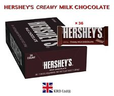Hersheys Creamy Milk Chocolate American Hershey's Case Of 36 Bars FULL BOX Gift