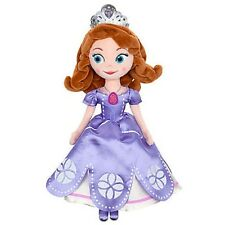 """SOFIA THE FIRST: ONCE UPON A PRINCESS SOFT PLUSH DOLL 13"""" AUTHENTIC DISNEY STORE"""