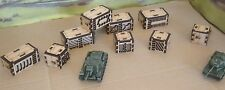 9x 15mm Large Freight Containers laser Cut MDF Scenery Wargamming Trains FOW etc