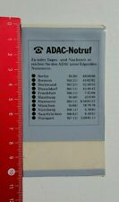 Aufkleber/Sticker: ADAC Notruf 1982 (25071638)