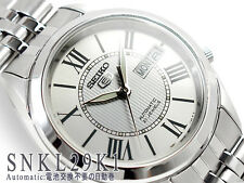 Seiko 5 Men's SNKL29K1  Stainless Steel Automatic 21 Jewels Day Date Watch