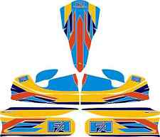 2015 FA ALONSO STYLE FULL KART STICKER KIT TO FIT M4 BODYWORK - KARTING - OTK