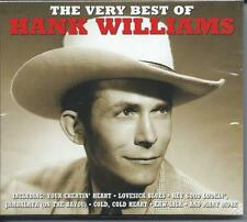 Hank Williams - The Very Best Of...Greatest Hits (2CD 2013) NEW/SEALED
