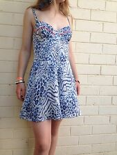 Forever New sz 8 Silk Feel Dress Look Jump/ Play Suit AS NEW