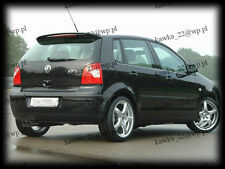 VW Volkswagen Polo MK4 IV [9N] 2001-2005 Pre-Facelift Rear Roof Spoiler
