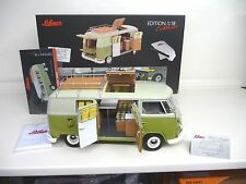 1:18 schuco vw t1 westfalia consomme camper schuco exclusivement Neuf New