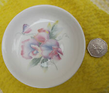 Aynsley LITTLE SWEETHEART pin dish Sweet pea flower English bone china