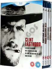 The Clint Eastwood Spaghetti Western Quadrilogy 4 Film BLURAY Boxset Collection
