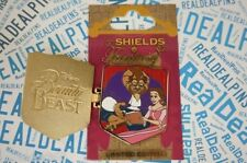 Disney Trading Pin Beauty & The Beast Shields Of Fantasy Belle Pink Dress 107316
