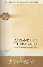 Alexandrian Christianity (Library of Christian Classics), , Acceptable Book