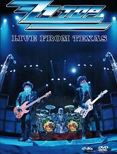 DVD ZZ Top ‎– Live From Texas ,Neuwertig ,FSK 0 ,Eagle Vision