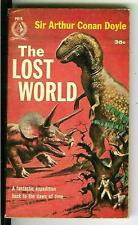 THE LOST WORLD by Doyle rare US Pyramid #PR15 sci-fi dinosaurs pulp vintage pb