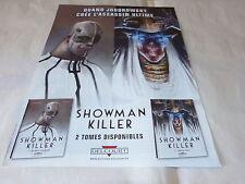 JODOROWSKY - FRUCTUS - Publicité de magazine / Advert SHOWMAN KILLER  !!!!!
